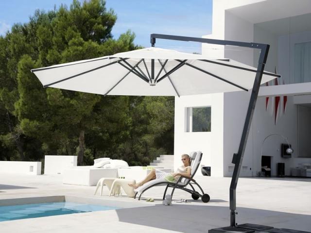 ampelschirm amalfi 3m. Black Bedroom Furniture Sets. Home Design Ideas